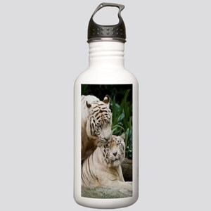 Kiss love peace and jo Stainless Water Bottle 1.0L