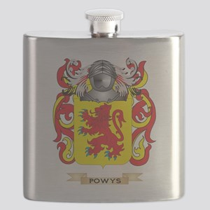 Powys Coat of Arms (Family Crest) Flask