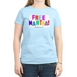 Free Martha Women's Pink T-Shirt