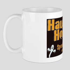 Haunted House Spook-key  yard sign Mug