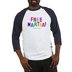 Free Martha Baseball Jersey
