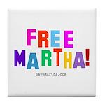 Free Martha Tile Coaster