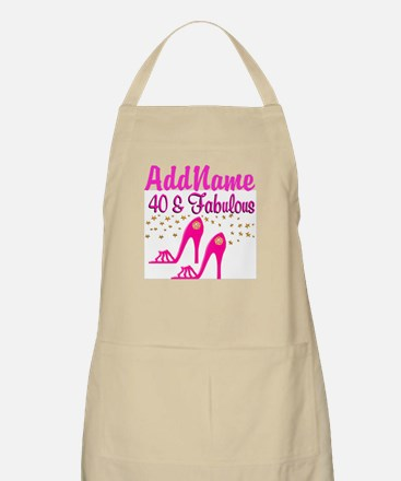 FABULOUS 40TH Apron