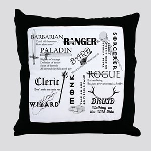 All Classes Throw Pillow