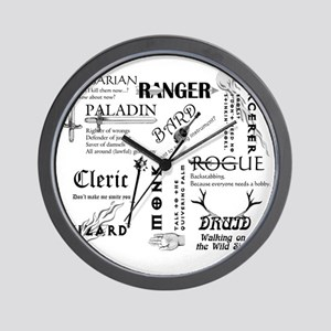 All Classes Wall Clock