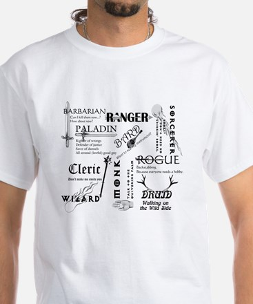 All Classes White T-Shirt