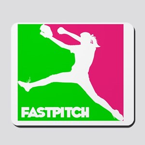 GWP Pitcher Fastpitch Mousepad
