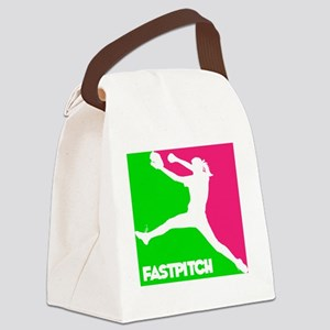 GWP Pitcher Fastpitch Canvas Lunch Bag