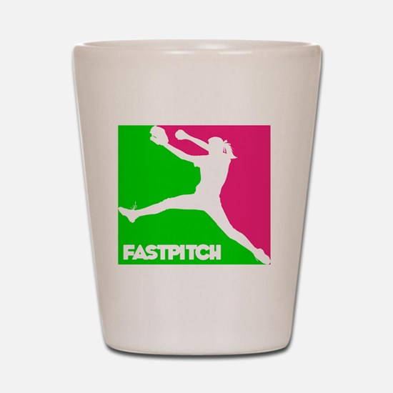 GWP Pitcher Fastpitch Shot Glass