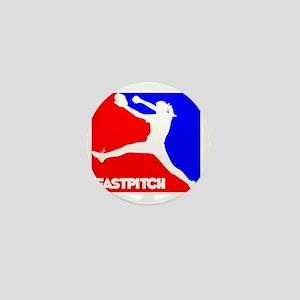 RWB Pitcher Fastpitch Mini Button