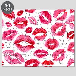 Lipstick Prints Puzzle
