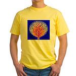 Equality Life Tree Yellow T-Shirt