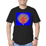 Equality Life Tree Men's Fitted T-Shirt (dark)