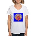 Equality Life Tree Women's V-Neck T-Shirt