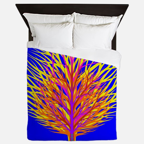 Equality Life Tree Queen Duvet