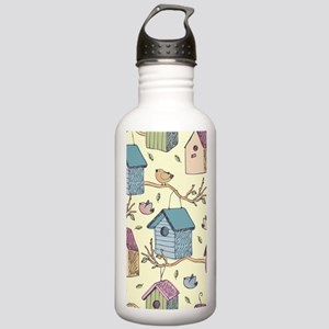 Cute Birdhouses Stainless Water Bottle 1.0L