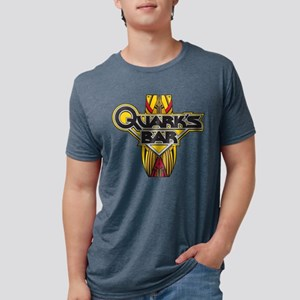 STAR TREK DS9 Quarks Mens Tri-blend T-Shirt