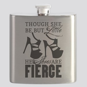 Though She Be But Little/Fierce Shoes Flask