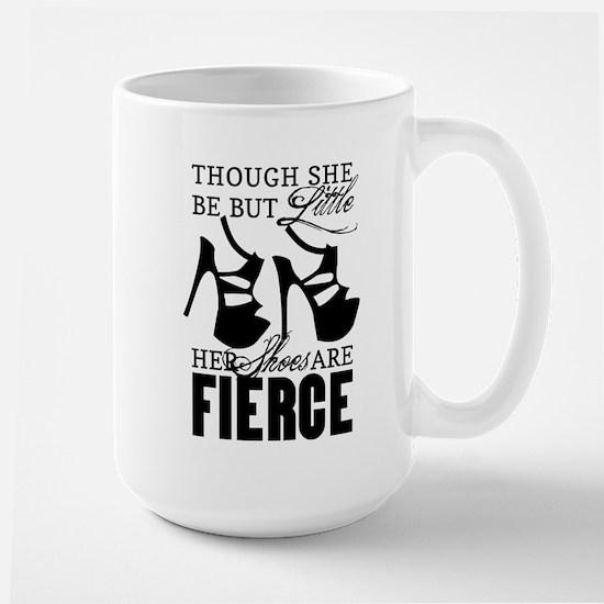 Though She Be But Little/Fierce Shoes Mugs