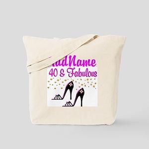 GLAMOROUS 40TH Tote Bag