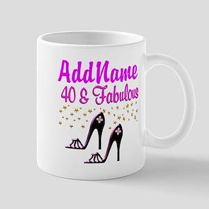 GLAMOROUS 40TH Mug