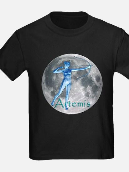 Artemis Moon greek god huntin T