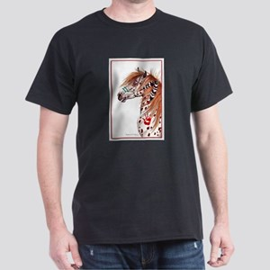 Leopard Appaloosa War Pony Dark T-Shirt