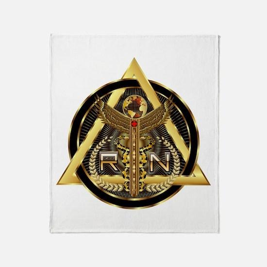 Medical RN Universal Design 1 Throw Blanket