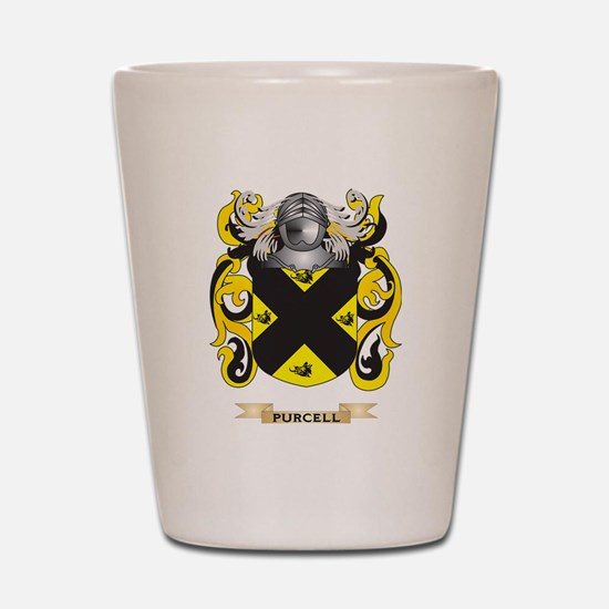 Purcell Coat of Arms (Family Crest) Shot Glass