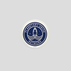 Planetary Union Network Mini Button