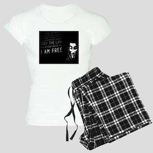 Anonymous 99% Occupy t-shir Women's Light Pajamas