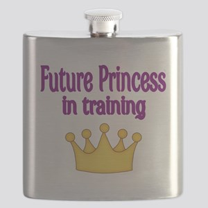 FUTURE PRINCESS IN TRAINING Flask
