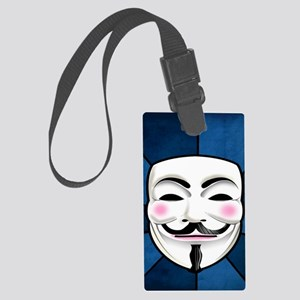 Anonymous 99% Occupy t-shirt Large Luggage Tag