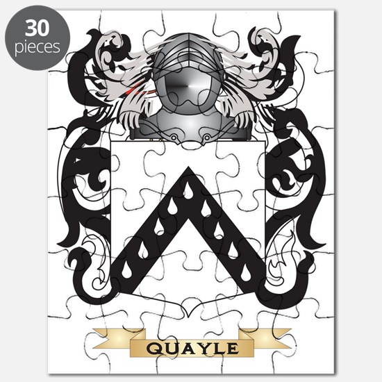 Quayle Coat of Arms (Family Crest) Puzzle