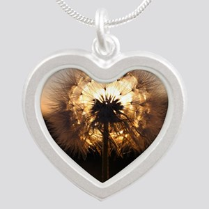 Glow Silver Heart Necklace