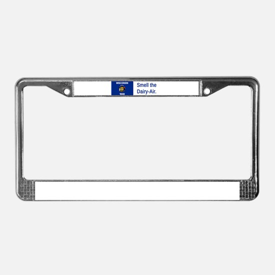 Wisconsin #4 License Plate Frame
