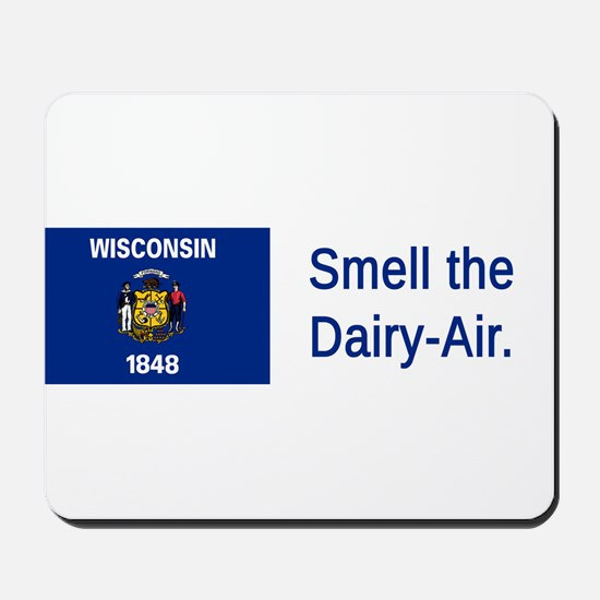 Wisconsin #4 Mousepad