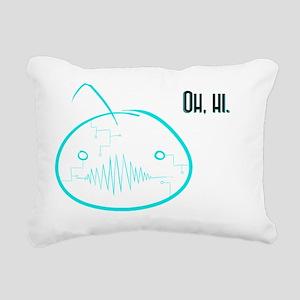 Oh hi- Virus!Cry Rectangular Canvas Pillow
