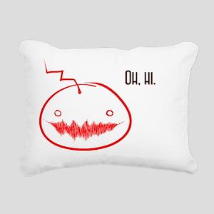 Oh Hi- Mad!Cry Rectangular Canvas Pillow