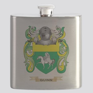 Quinn Coat of Arms (Family Crest) Flask