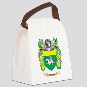 Quinn Coat of Arms (Family Crest) Canvas Lunch Bag