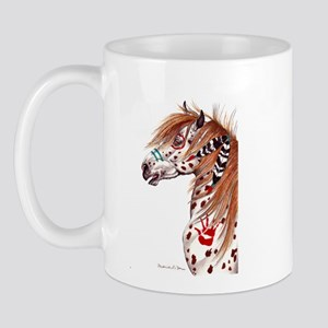 Leopard Appaloosa War Pony Mug