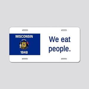 Wisconsin #3 Aluminum License Plate