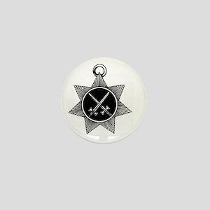Knight Mason Mini Button