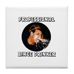 Professional Binge Drinker - Tile Coaster