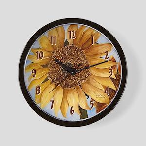 Stacia Nicole's Sunflower Wall Clock