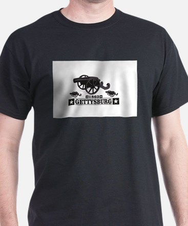 cannons of gettysburg T-Shirt