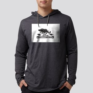 cannons of gettysburg Long Sleeve T-Shirt