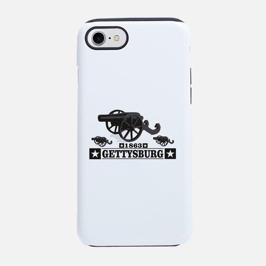 cannons of gettysburg iPhone 7 Tough Case