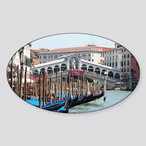 Venice 001 Sticker (Oval)